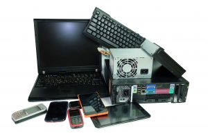 Decommissioned Equipment for Recycling - Laptop, Keyboard, Smart Phone, Cell Phone, Tablet, Iphone, Computer, DVD/CD Rom